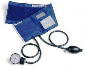 Manuell blodtrycksmätare